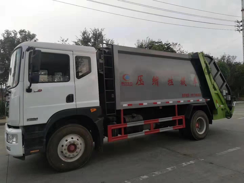 東風D9多利卡12方壓縮垃圾車圖片