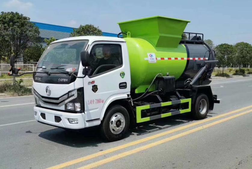 国六东风多利卡5方餐厨垃圾车