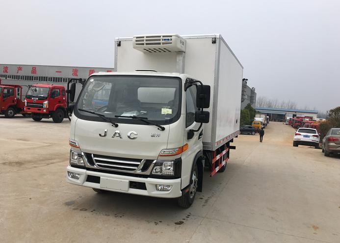 江淮骏铃V5 4.2米冷藏车厂家促销 现货供应图片