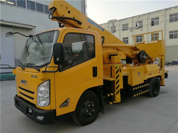 江鈴20米伸縮臂高空作業車圖片