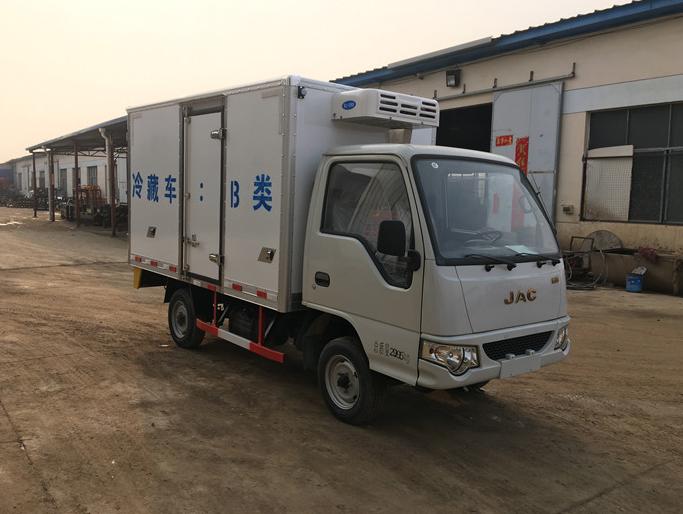 江淮康玲冷藏车可全国免息分期 送货上门图片