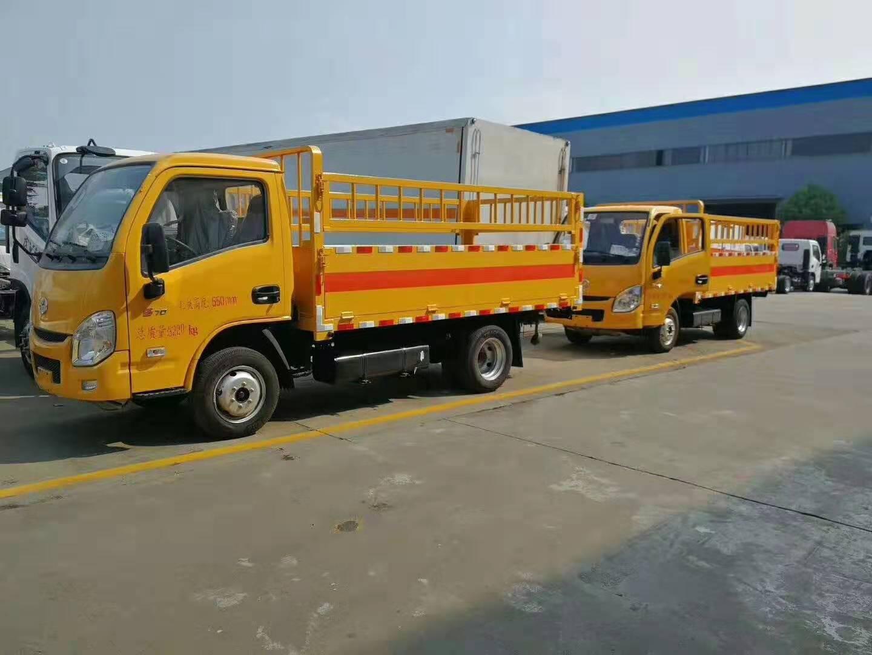 国六跃进汽油版气瓶运输车最新价格图片