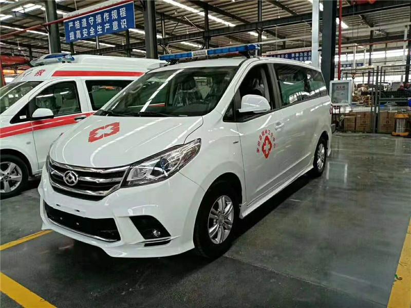 國六大通救護車廠家直銷成本價圖片