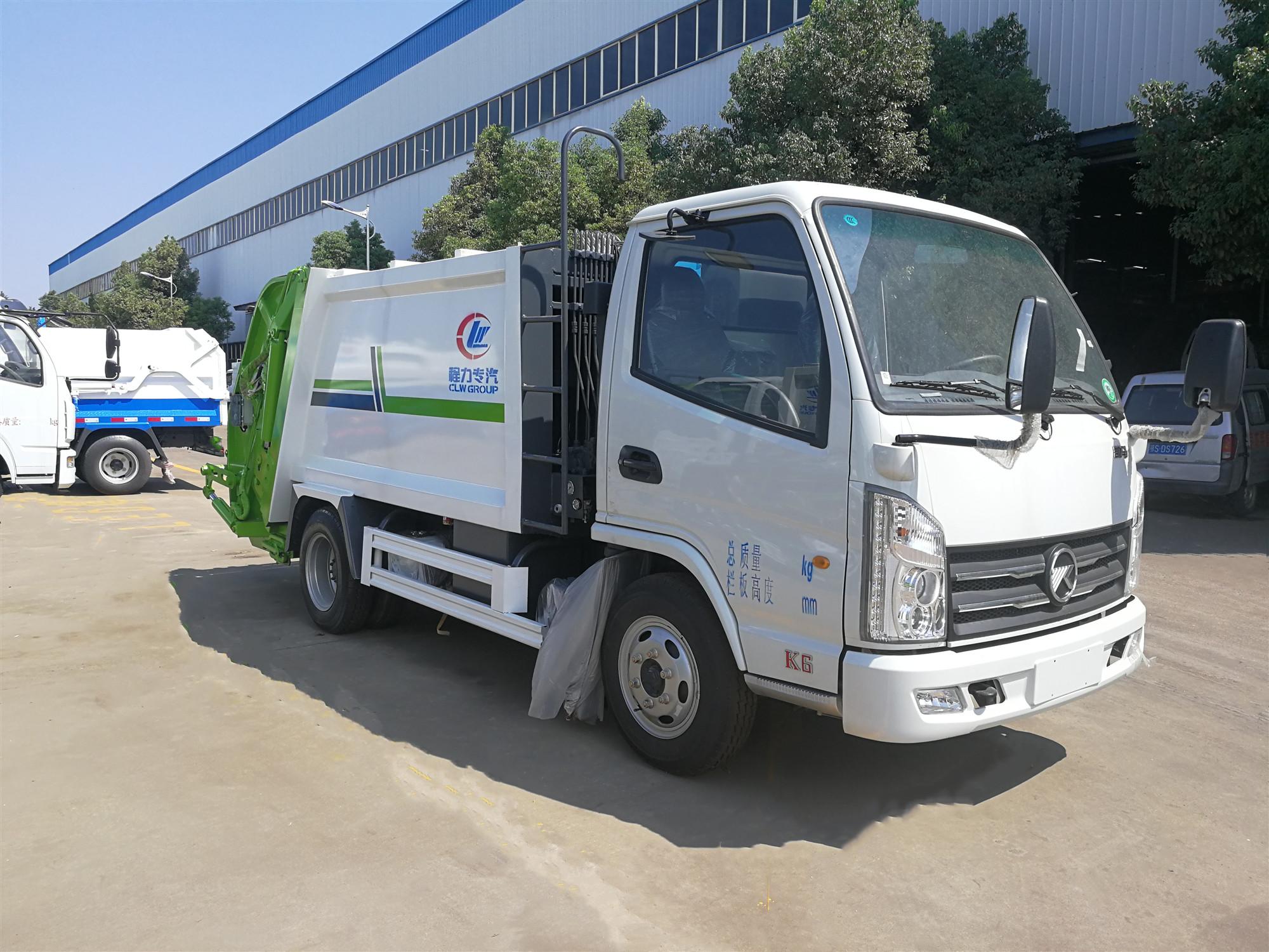 凯马压缩式垃圾车(国五4方)