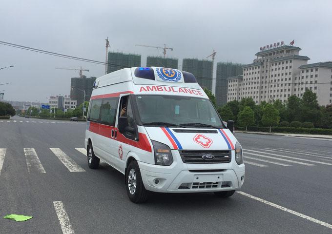 國六福特全順V348高頂監護型救護車(柴油)