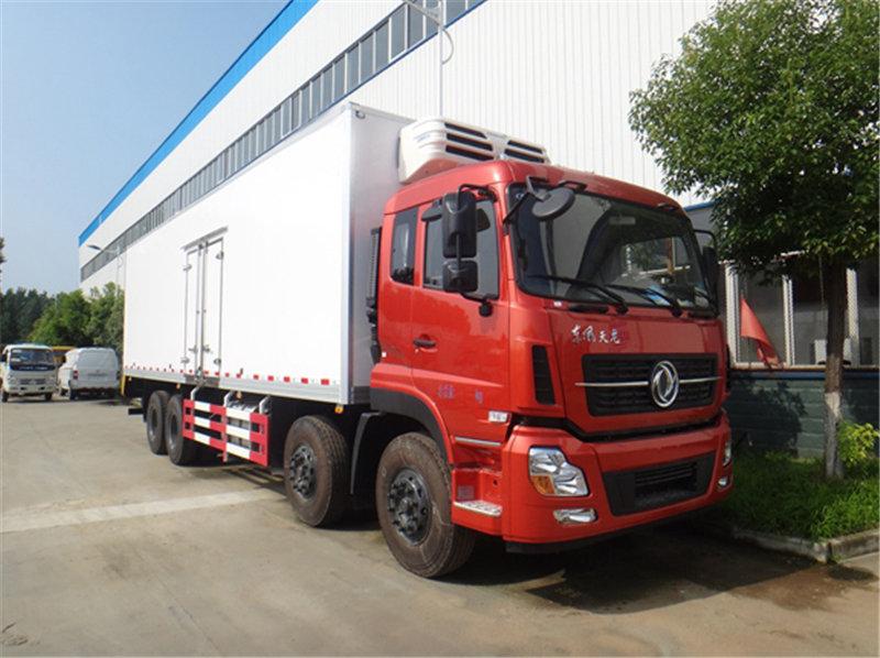 东风天龙9.6米冷藏车乌鲁木齐厂家直销天龙三轴9.6米冷藏车