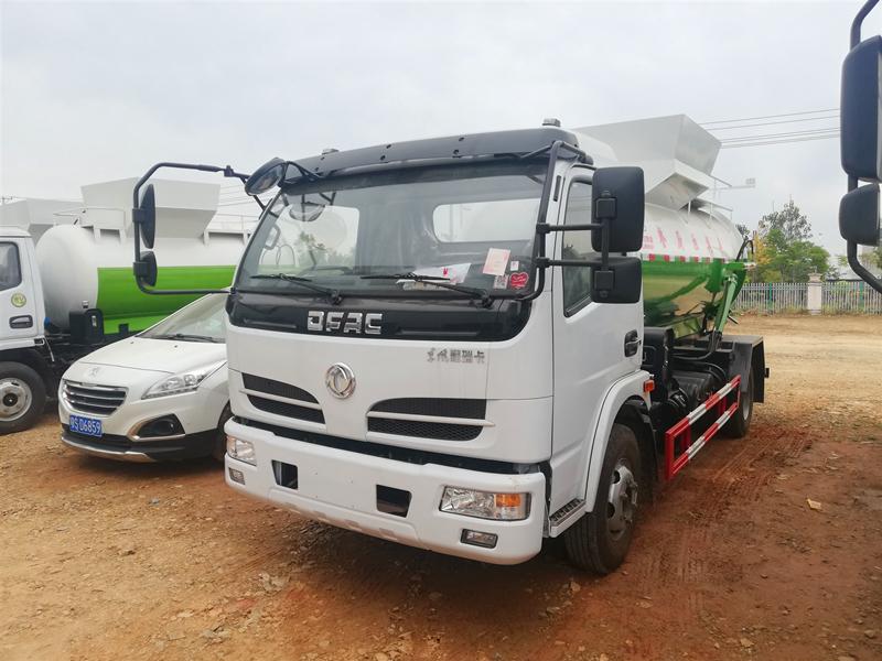 东风餐厨垃圾车,5吨餐厨垃圾车