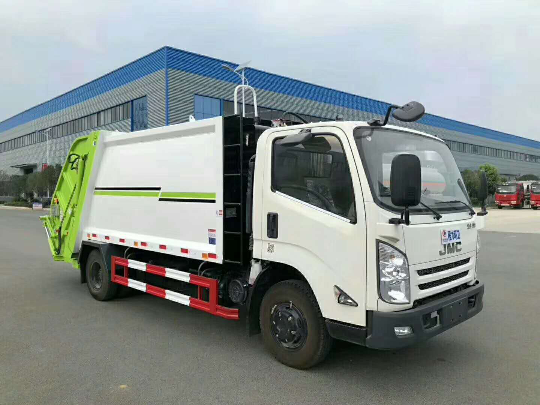 江鈴8噸壓縮式垃圾車廠家在哪里?
