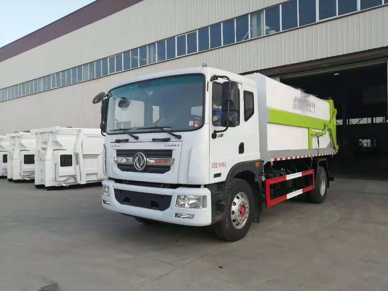 国六东风D9型对接式垃圾车图片配置图片