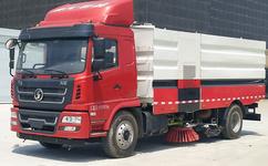 陕汽8吨大型洗扫车