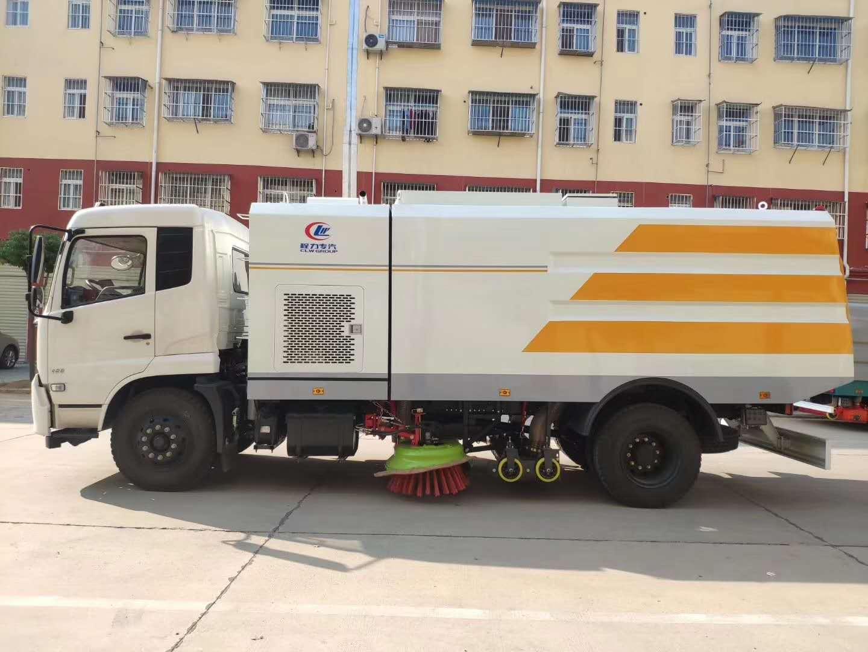東風天錦高端干掃車,使用方便,無任何使用局限圖片
