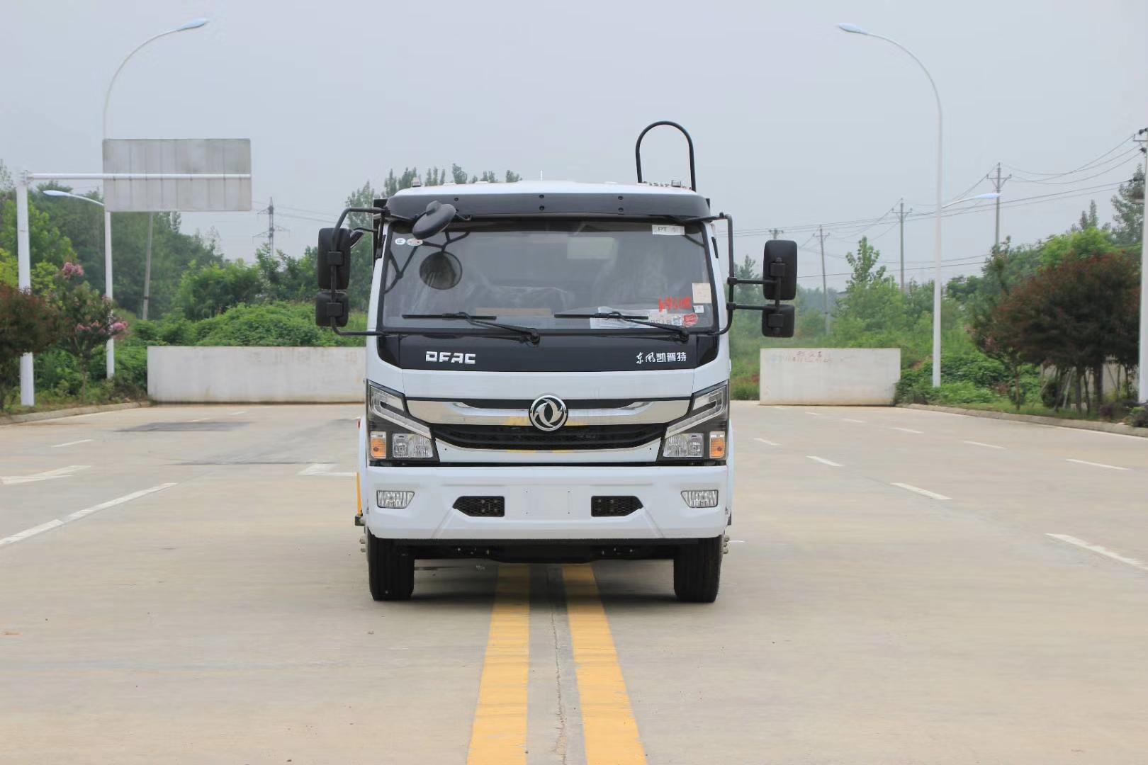 國六東風6方壓縮垃圾車