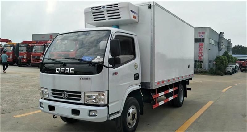 冷藏车东风多利卡D6冷藏车价格厂家直销推荐(图1)