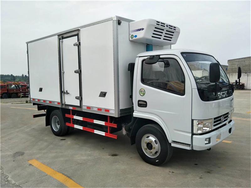 冷藏车东风多利卡D6冷藏车价格厂家直销推荐(图2)