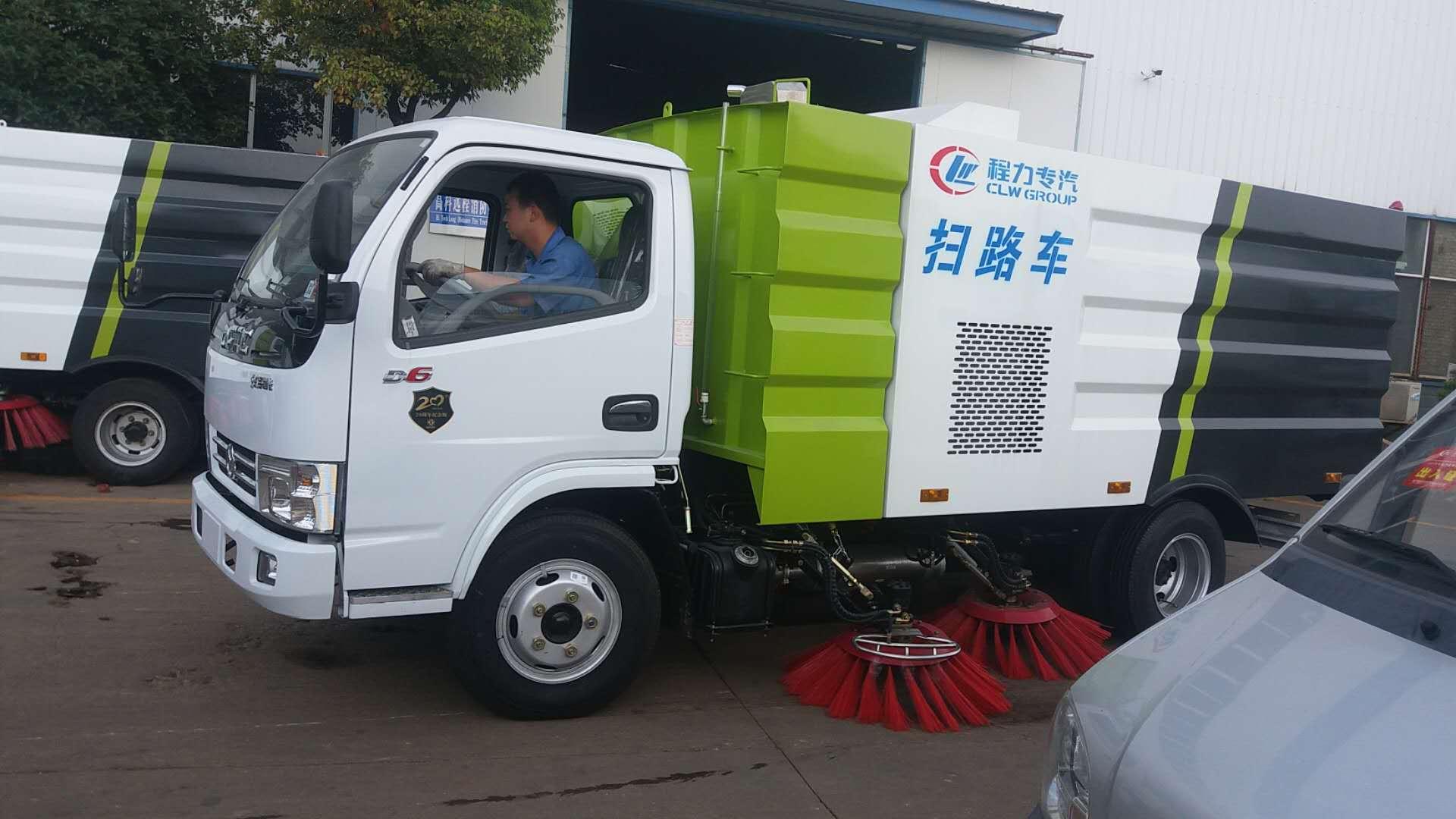 掃路車 東風小型掃路車價格圖片