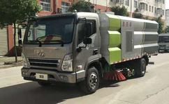 现代5吨中型洗扫车