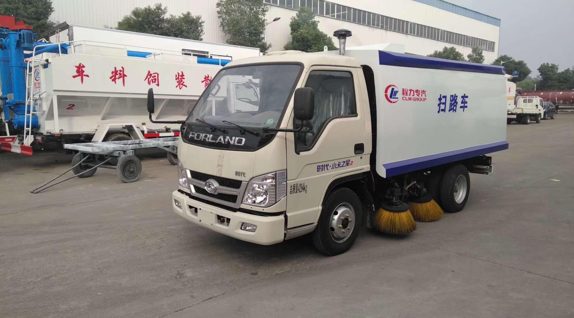 福田不上戶,廠區專用小型掃路車圖片