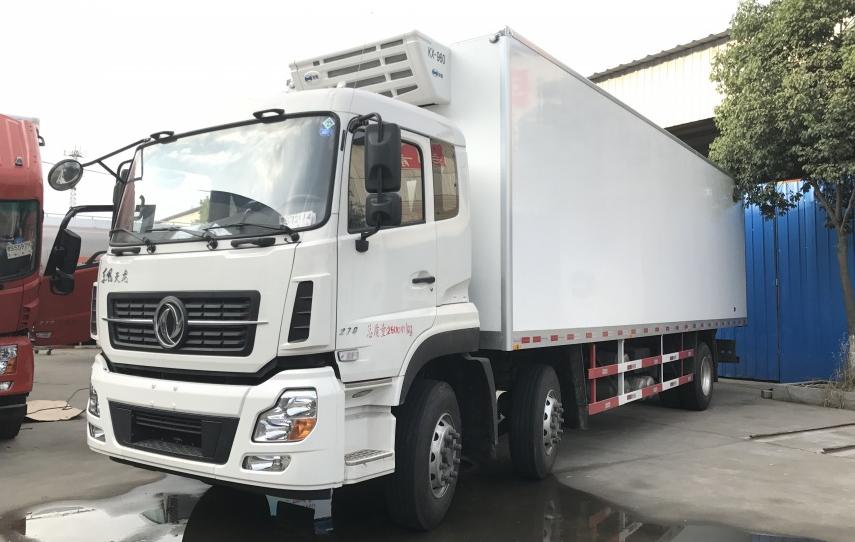东风天龙9.4米冷藏车