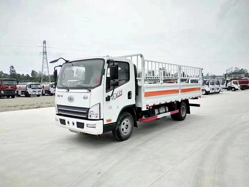 5.2米解放虎VN高栏气瓶运输车 额定载7.9吨 多少钱?图片