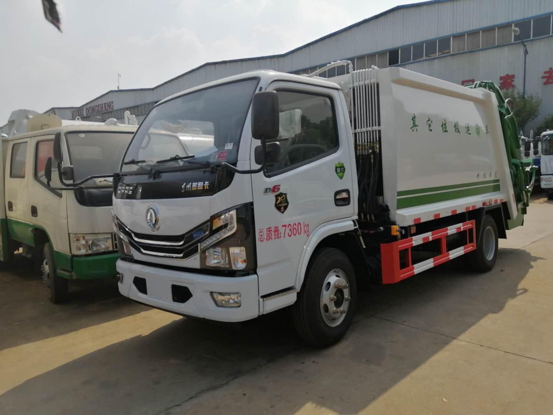 東風牌國六壓縮垃圾車有哪些配置圖片