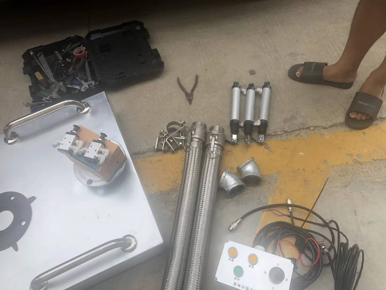 移动电子雾炮工地专用视频