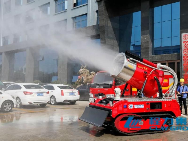 快喵成年app短视频网站RXR-YM60000D履帶式排煙滅火戰車智能消防機器人