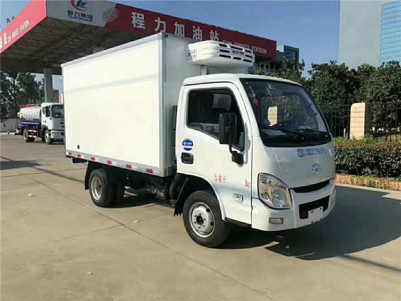 跃进汽油版小型国六冷藏车重磅上市!