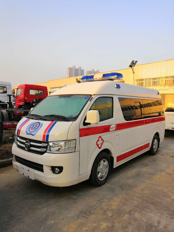 福田救護車福田G7救護車圖片