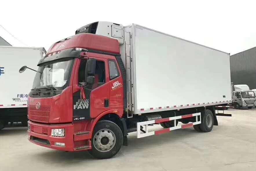 解放7.5米冷链车冷藏车厂家最新价格图片
