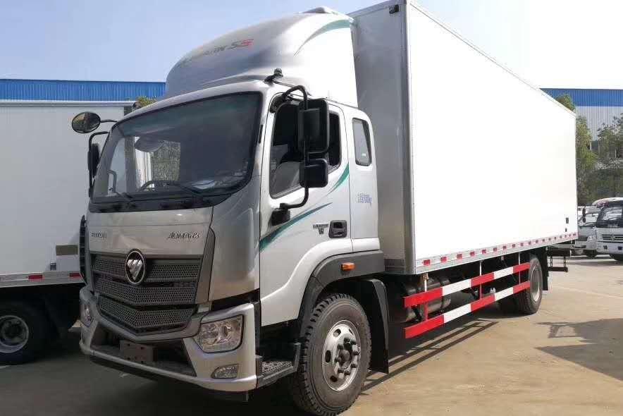 福田欧马可S5型7.6米厢体冷藏车厂家最新价格图片