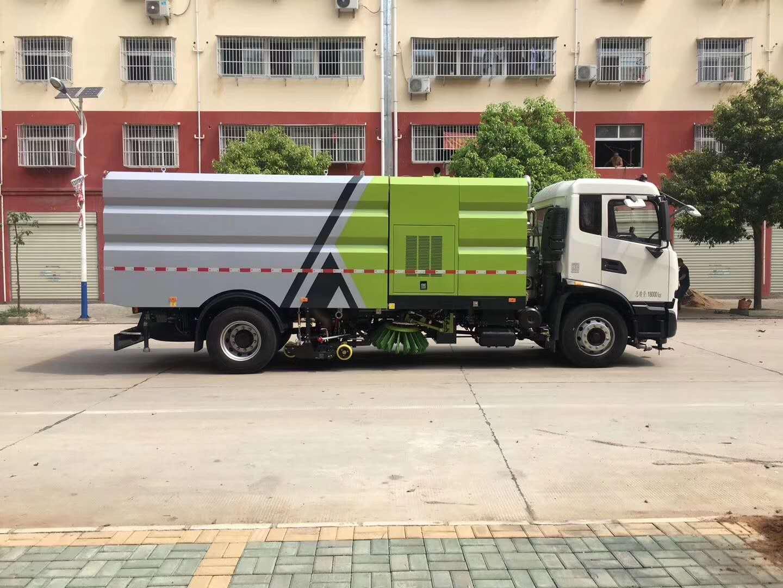 国六天锦CLW5180TXSD6洗扫车高清图片