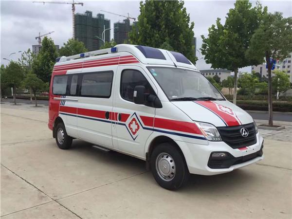 大通長軸監護型救護車圖片
