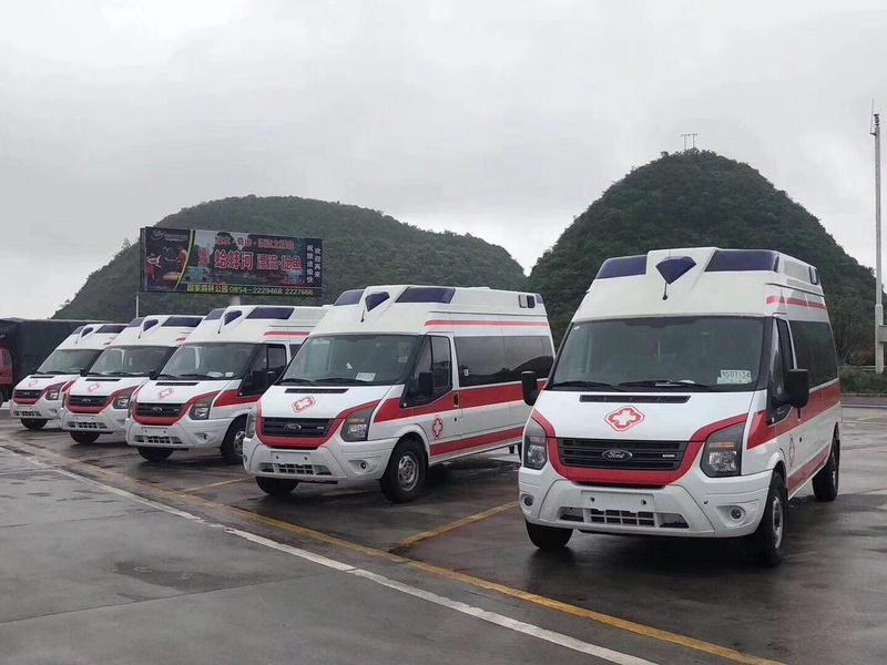 国六新世代福星顶V348救护车价格