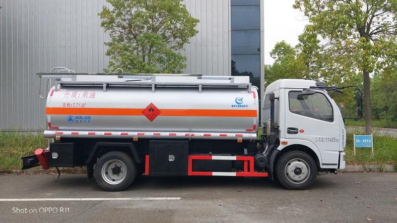 国五东风大多利卡8吨油罐车 随来随提 厂家现车视频