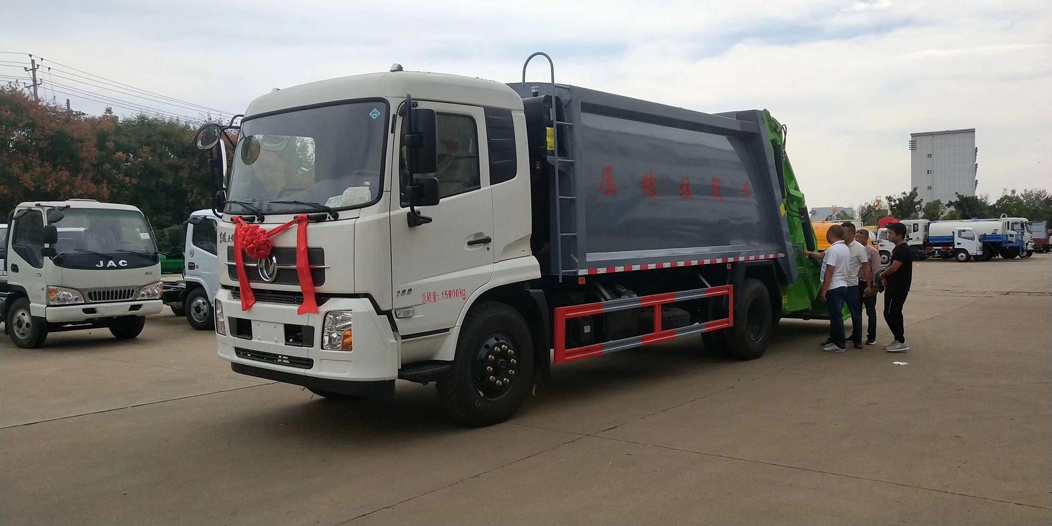 东风天龙20方压缩垃圾车厂家批量生产