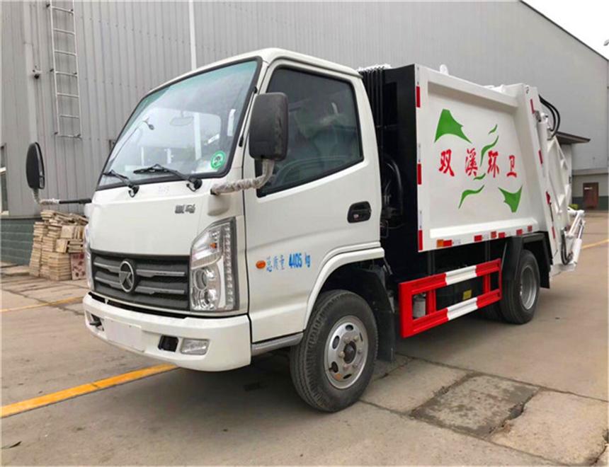 凯马5方(蓝牌)压缩垃圾车