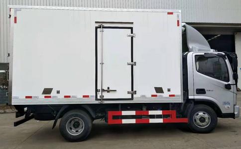福田奥铃速运4.2米冷藏车