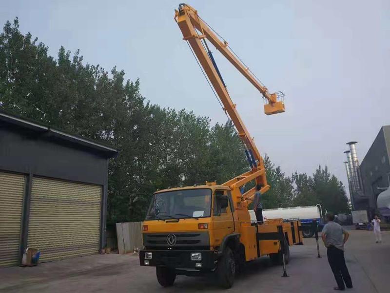 惠州市24米折臂高空作业车未来前景广阔图片