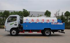 东风多利卡CLW5080GQX5高压清洗车