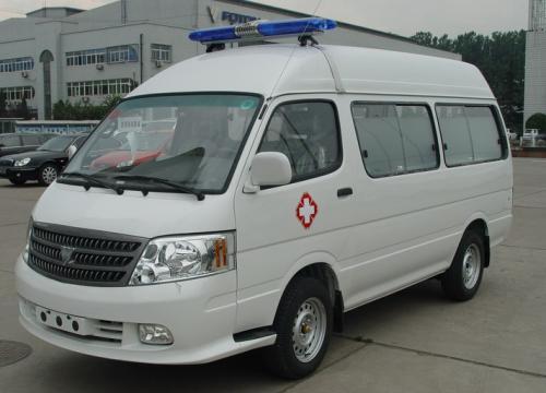 福田救護車福田圖雅諾短軸救護車圖片