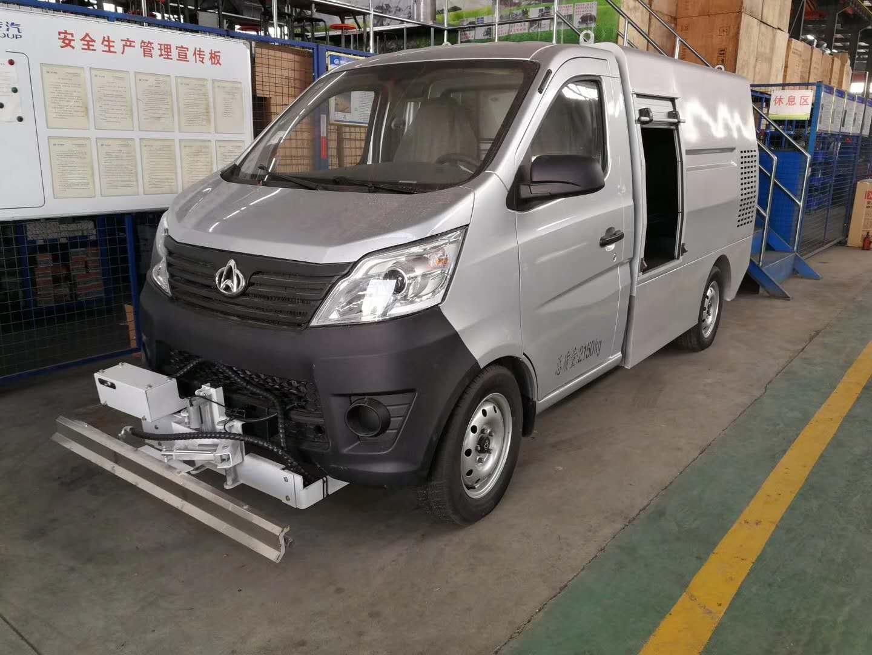 小型蓝牌高压清洗路面清洁车生产专业定制报价