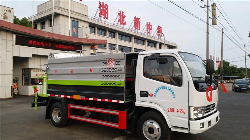 藍牌灑水車視頻 藍牌5方灑水車廠家銷售