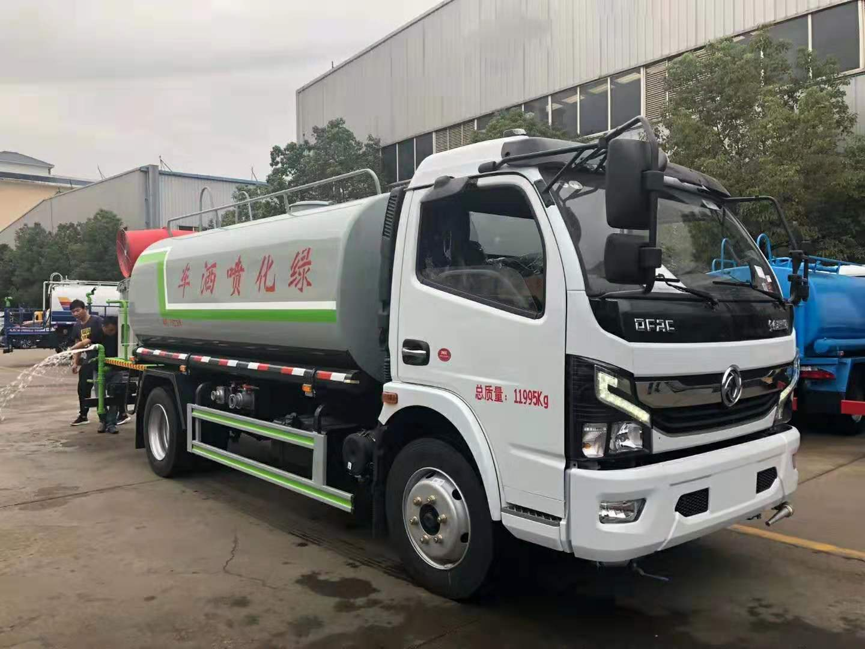 國六凱普特8噸灑水車