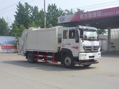 重汽斯太尔12立方压缩式垃圾车