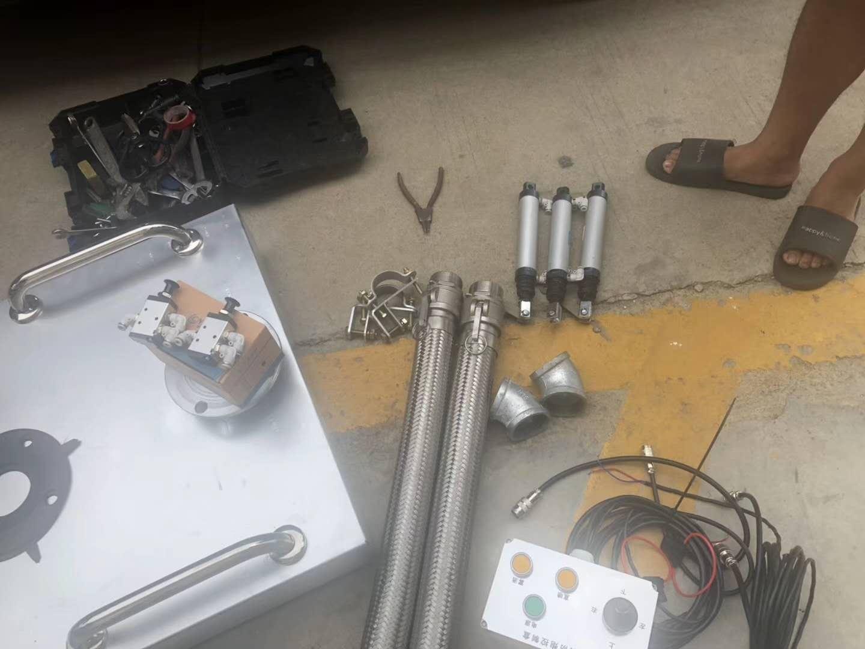 消防机器人远程控制效果视频