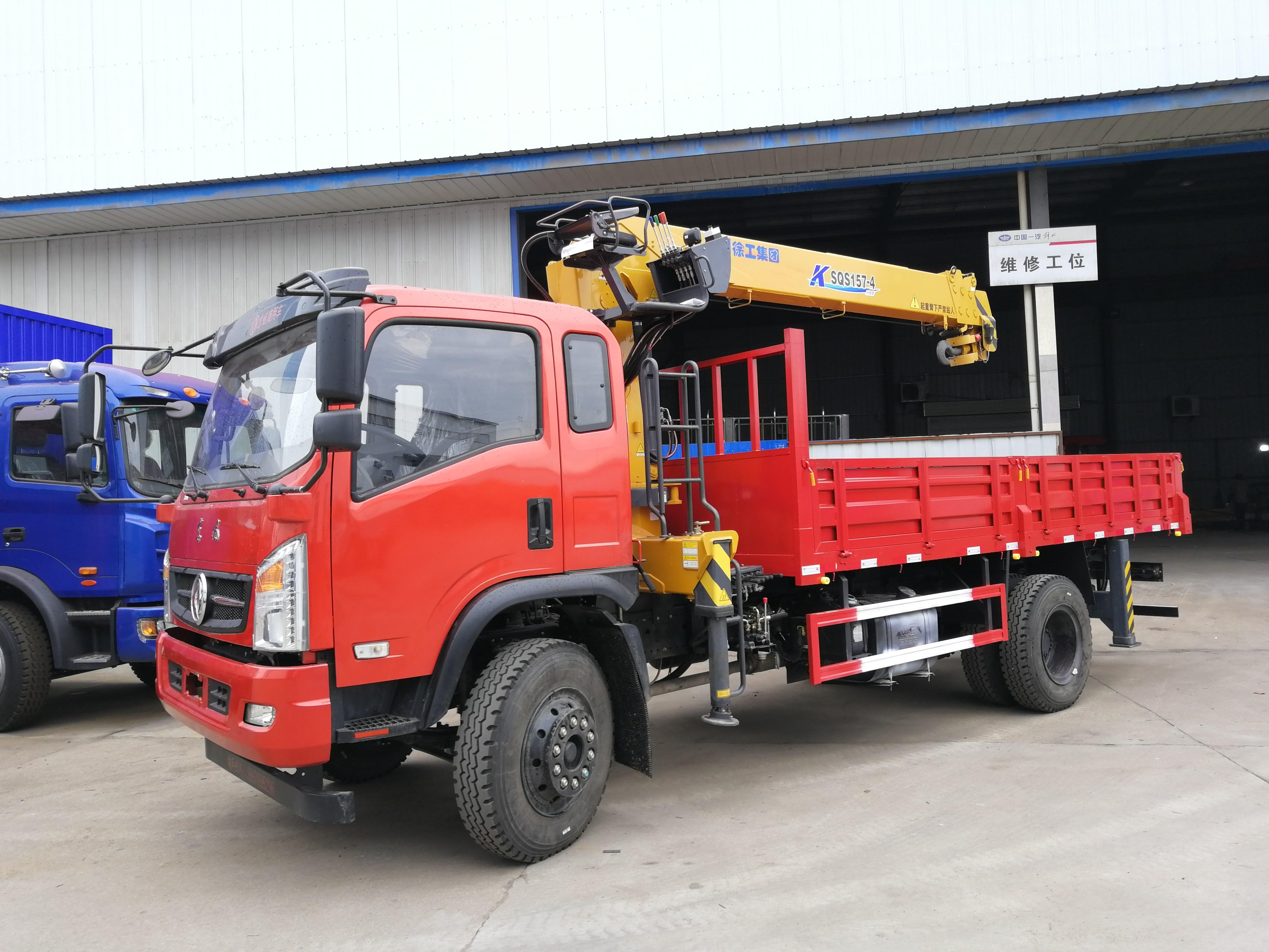 东风随专玉柴160马力 6.3吨7吨随车吊 超高性价比