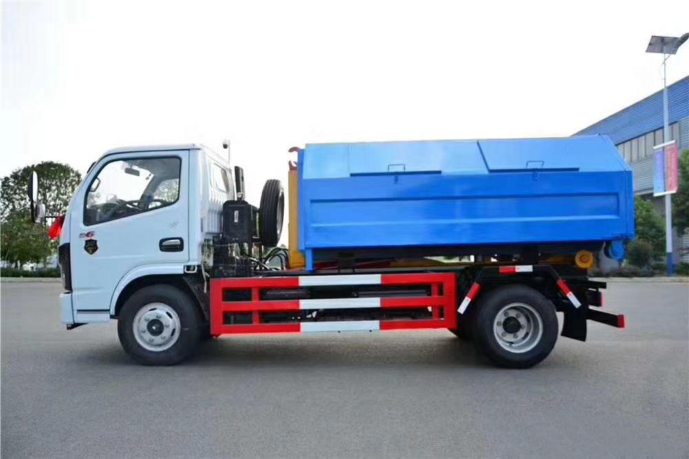 东风多利卡国六勾臂式垃圾车图片图片