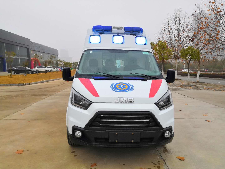 福特救护车江铃特顺(长轴)救护车