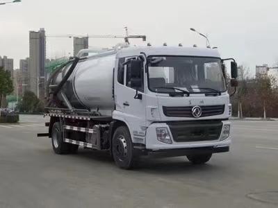 国六东风专底吸污车图片
