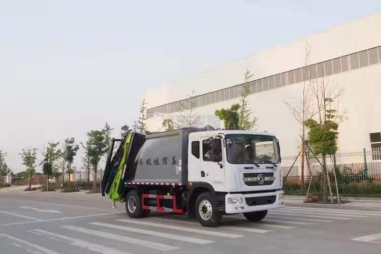东风D9国六压缩式垃圾车图片